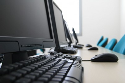 computers on desk