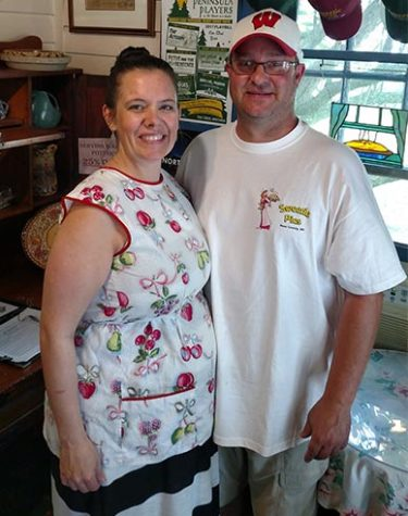 Sweetie Pies Owners Olivia and Chris